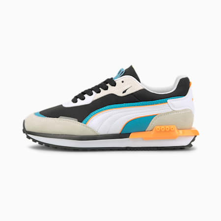 City Rider Youth Trainers, Vaporous Gray-Puma Black, small-GBR