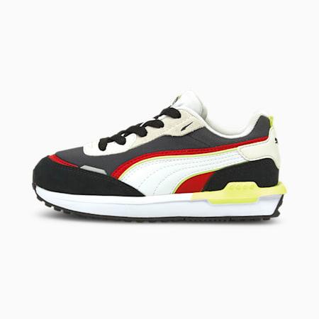 City Rider Kinder Sneaker, Puma Black-Ebony, small