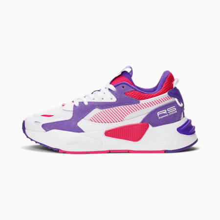 Zapatos deportivos RS-Z JR, Puma White-Beetroot Purple-Prism Violet, pequeño