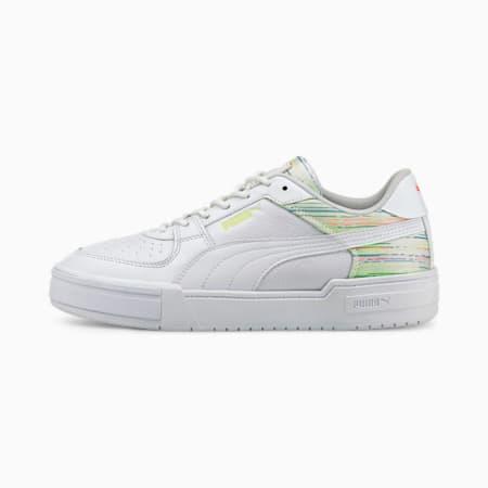 Zapatos deportivos CA Pro, Puma White-PWht-Green Glare, pequeño