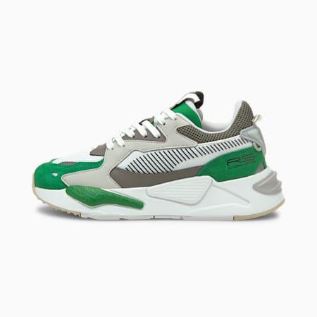 Zapatos deportivos RS-Z College JR, Amazon Green-Puma White, pequeño
