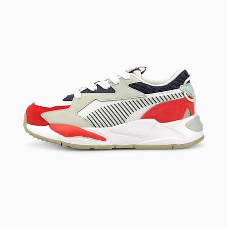 Zapatos RS-Z College para niño pequeño, Grenadine-Puma White, pequeño