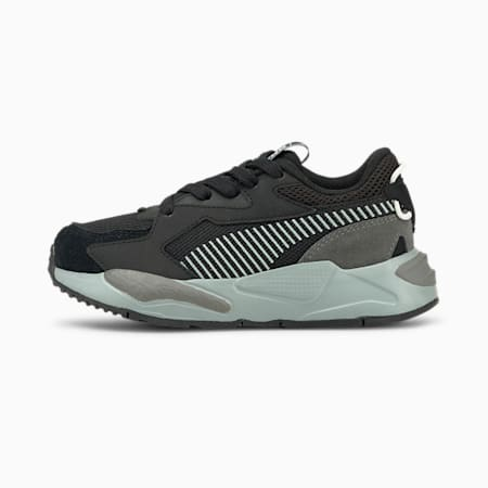 Zapatos RS-Z College para niño pequeño, Puma Black-Quarry, pequeño