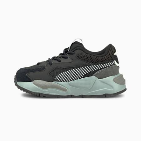 Zapatillas de cierre alternativo para bebés RS-Z College, Puma Black-Quarry, small