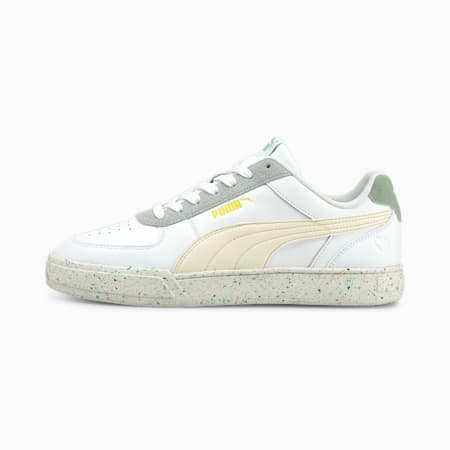PUMA Caven Better Unisex Shoes, Puma White-Ivory Glow-Frosty Green-Nrgy Yellow, small-IND