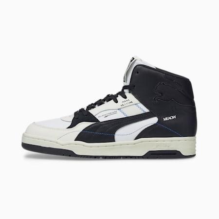 Zapatos deportivos de caña media PUMA x PUMA Slipstream, Puma Black-Whisper White, pequeño