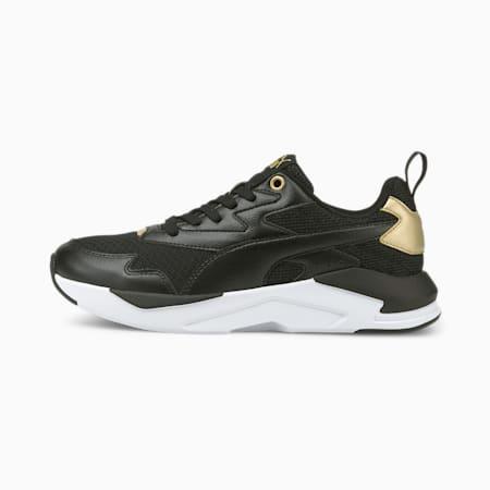 X-Ray Lite Metallic Pop Women's Shoes, Puma Black-Puma Black-Puma Team Gold, small-IND