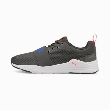 PUMA Wired Run Ripstop Unisex Shoes, Dark Shadow-Bluemazing, small-IND