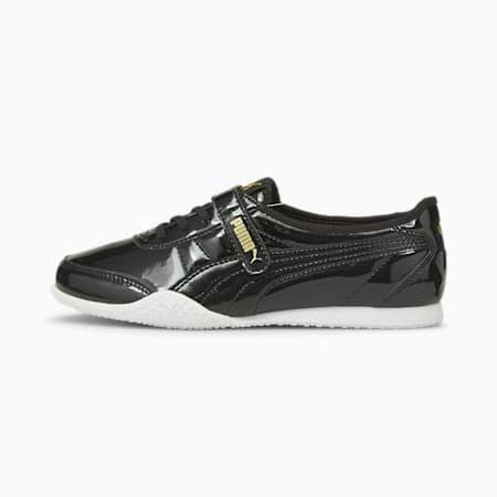 Bella V Patent Women's Shoes, Puma Black-Puma Team Gold, small-IND
