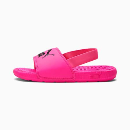 Zapatos con correa trasera Cool Cat para niños, Fluo Pink-Puma Black, pequeño