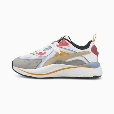 PUMA x RS-Curve Bright Heights Women's Shoes, Puma White-Blue Fog, small-IND