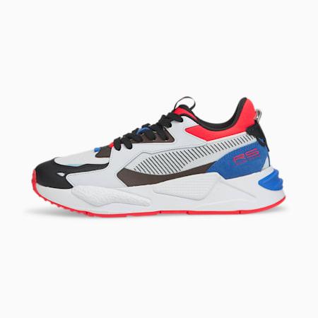 Zapatos deportivos RS-Z Pop para mujer, Puma White-Sunblaze, pequeño