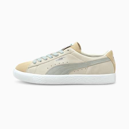 Zapatos deportivos  VTG Block de gamuza para mujer, Marshmallow-Puma White, pequeño