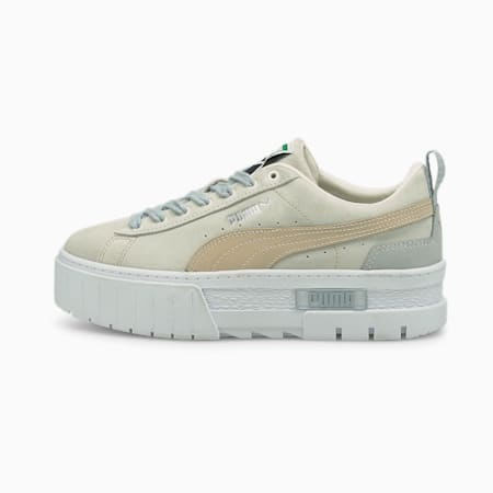 Mayze Luxe Women's Trainers, Marshmallow, small