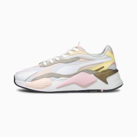 Zapatos deportivos RS-X³ Puzzle v2, Pearl-Puma White-Yellow Pear, pequeño