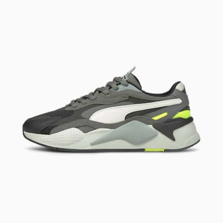RS-X³ Puzzle V2 Trainers, Black-N.Cloud-Yellow Alert, small