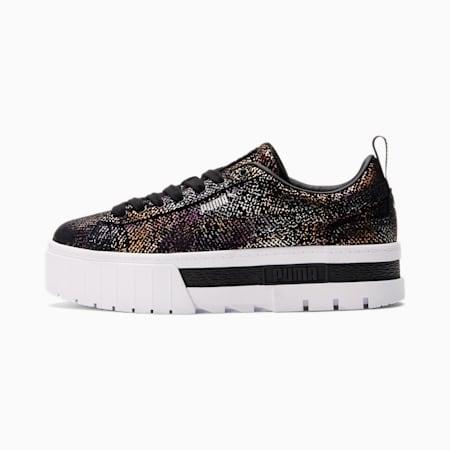 Zapatos deportivosMayze AO Met para mujer, Puma Black-Puma Silver, pequeño