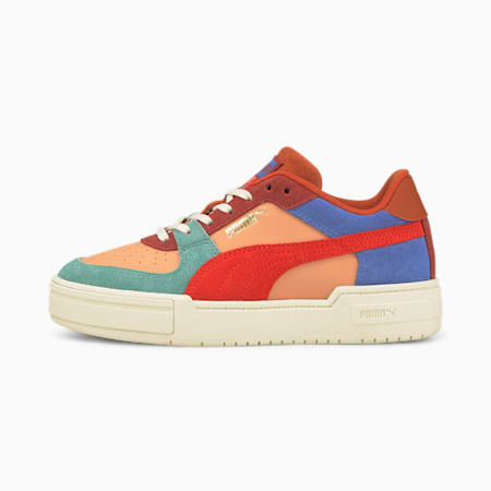 PUMA x TINYCOTTONS CA Pro Sneakers JR, Dusty Coral-Grenadine, pequeño