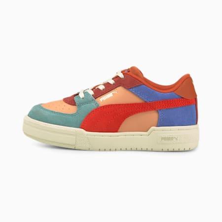 Zapatos PUMA x TINYCOTTONS CA Pro para niños pequeños, Dusty Coral-Grenadine, pequeño