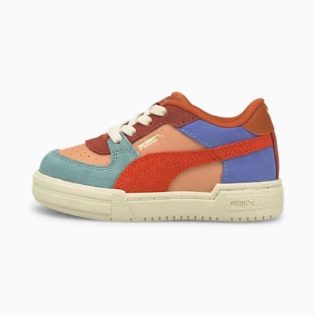 Zapatos PUMA x TINYCOTTONS CA Pro para bebés, Dusty Coral-Grenadine, pequeño