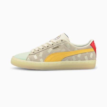 Zapatos deportivos PUMA x HARIBO Suede JR, Mimosa-Whisper White, pequeño