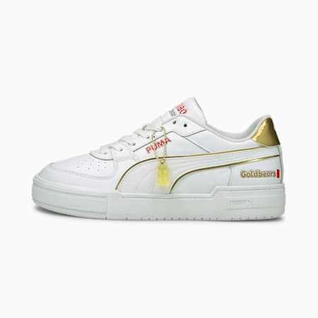 California Pro Haribo FL Sneaker, Puma White-Puma Team Gold, small