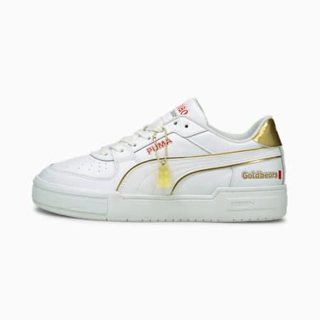 Zapatos deportivos PUMA x HARIBO CA Pro para hombre, Puma White-Puma Team Gold, pequeño