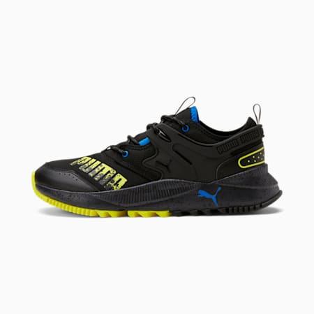 Zapatos deportivos Pacer Future Trail, Puma Black-Puma Black-Yellow Glow, pequeño