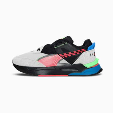 Mirage Sports Dazed Unisex Sneakers, Puma Black-Gray Violet-Green Glare-Sunblaze, small-IND