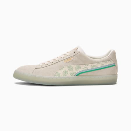 Baskets Suede PUMA x Animal Crossing™: New Horizons pour homme, Whisper White-Whisper White-Light Sky, small