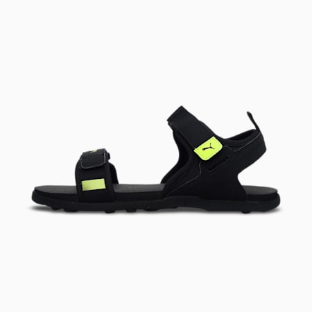 Shade V2 Men's Shoes, Puma Black-Limepunch, small-IND
