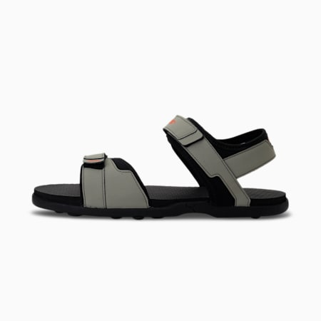 Street Walk V1 IDP Men's Sandals, Vetiver-Puma Black-Tigerlily, small-IND