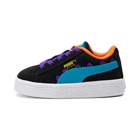 PUMA x RUGRATS Baby Sneaker, Puma Black-Caribbean Sea, small