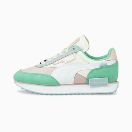 Zapatos deportivos PUMA x Animal Crossing™: New Horizons Future Rider JR, Bok Choy-Puma White-Rosewater, pequeño