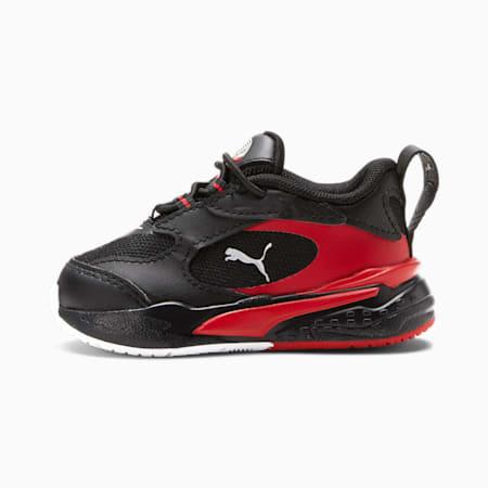 Zapatos deportivos RS-Fast Art of Sport para bebé, Puma Blk-Hgh Rsk Rd-Pma Wht, pequeño
