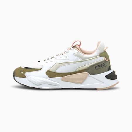 Zapatos deportivos RS-Z Reinvent para mujer, Puma White-Puma White-Lotus, pequeño