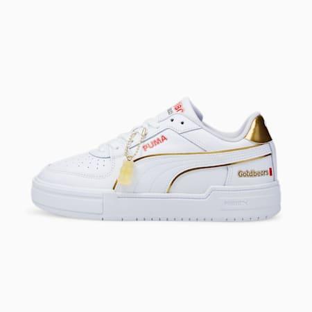 Zapatos deportivos PUMA x HARIBO CA Pro JR, Puma White-Puma Team Gold, pequeño