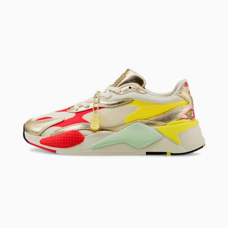 Zapatos deportivos PUMA x HARIBO RS-X³, Whisper White-Puma Team Gold, pequeño