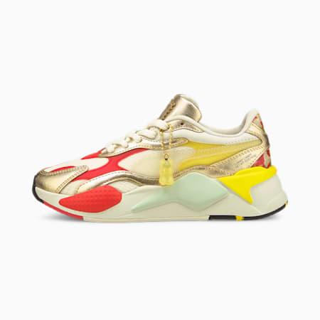 PUMA x HARIBO RS-X<sup>3</sup> sportschoenen voor jongeren, Whisper White-Puma Team Gold, small