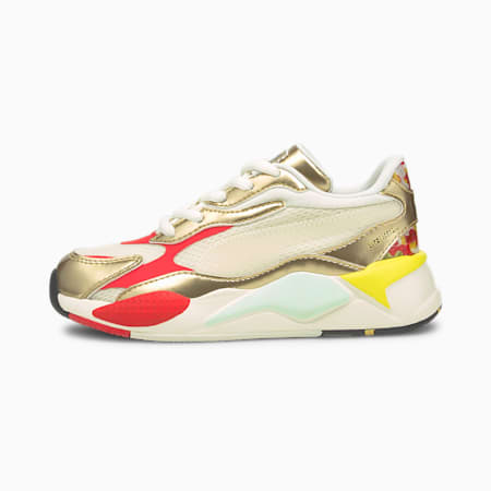 PUMA x HARIBO RS-X<sup>3</sup> sportschoenen voor kinderen, Whisper White-Puma Team Gold, small