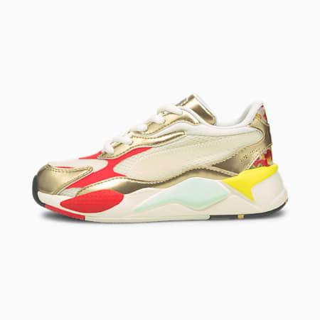 Zapatos deportivos PUMA x HARIBO RS-X³ de niño pequeño, Whisper White-Puma Team Gold, pequeño