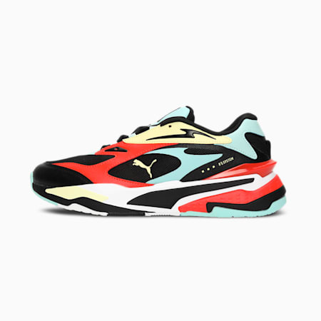 RS-FAST Unisex Sneakers, Puma Black-Eggshell Blue-Yellow Pear-Grenadine, small-IND