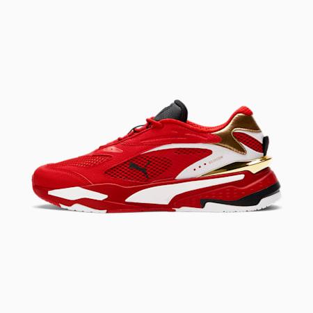 Zapatos deportivos RS-Fast Canadapara hombre, High Risk Red-Puma Team Gold-Puma White, pequeño
