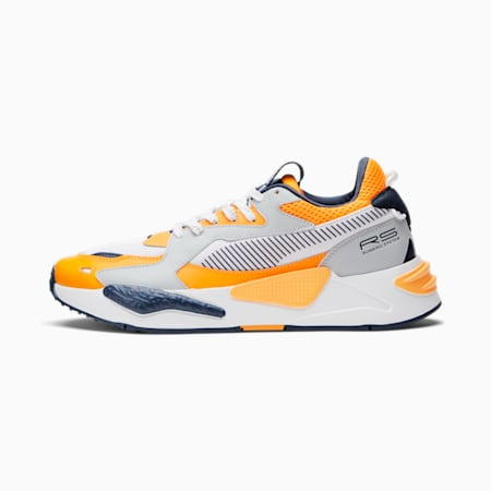 RS-Z Campus naranja, Orange Glow-Glacial Blue-Spellbound-Puma White, pequeño