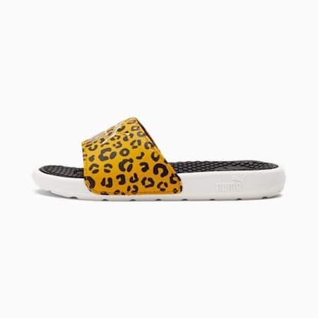 Sandalias Cool Cat Roar para niño pequeño, Puma Black-Ivory Glow, pequeño