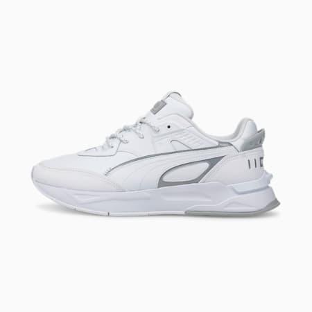 Mirage Sport reflecterende sportschoenen, Puma White-Puma White-High Rise, small