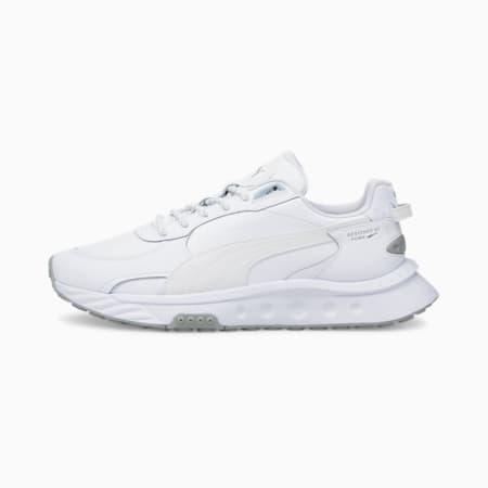 Wild Rider Reflektierende Sneakers, Puma White-Puma White, small