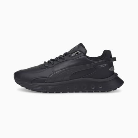 Wild Rider Reflektierende Sneakers, Puma Black-Puma Black, small