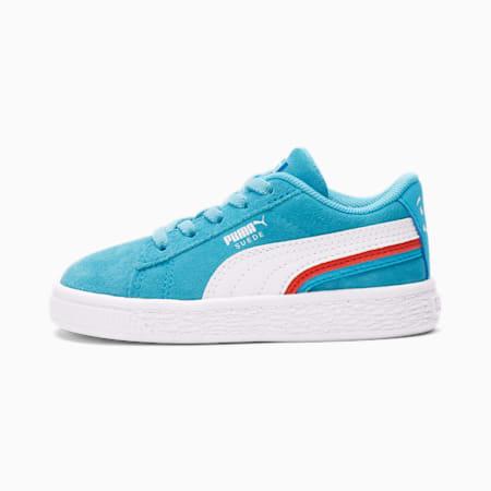 Zapatos PUMA x Kool-Aid Suede Triplex para bebé, Puma White-Blue Atoll, pequeño