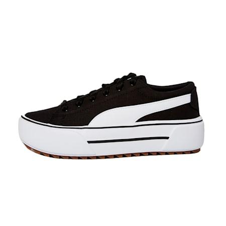 Zapatos deportivos con plataforma Kaia para mujer, Puma Black-Puma White-Gum, pequeño